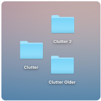 File and folder clutter